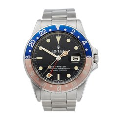 Rolex GMT-Master Radial Dial Stainless Steel - 1675