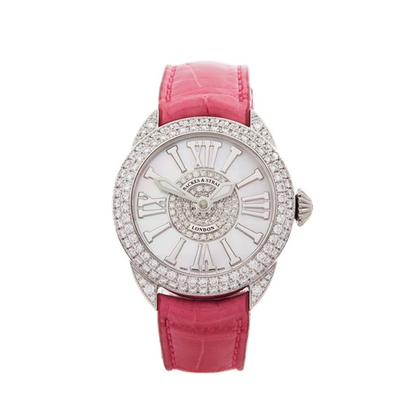 Backes & Strauss Piccadilly Diamond Stainless Steel - PC33QZD2R.ST.DINT.BLR