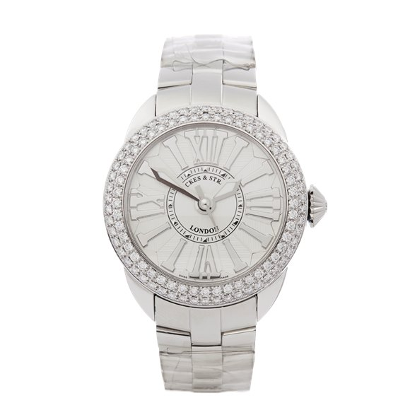 Backes & Strauss Piccadilly Diamond Stainless Steel - PC37MAD2R.ST.WWR.SP.SS
