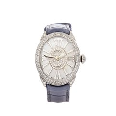 Backes & Strauss Regent Diamond Stainless Steel - RE2833QZ.D2R.ST.DINT.BLR