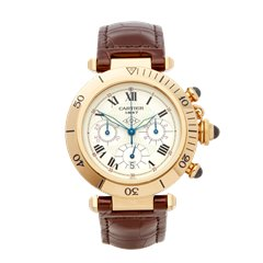Cartier Pasha de Cartier Anniversary Chronograph 18K Yellow Gold - 9601