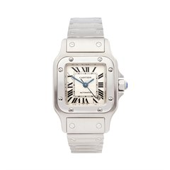 Cartier Santos Galbee Stainless Steel - W31080M7 or 2423