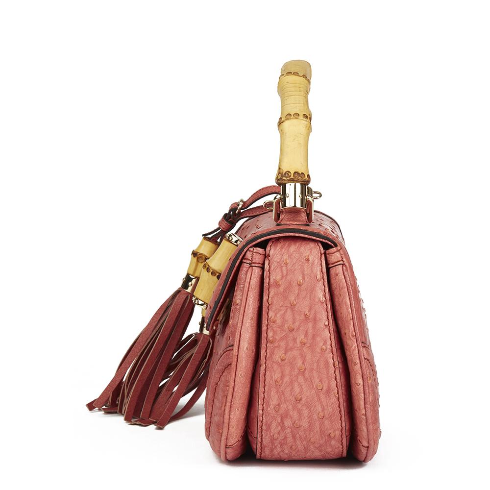 d60fd5c9b35 Gucci Ostrich Leather Handbags - Handbag Photos Eleventyone.Org