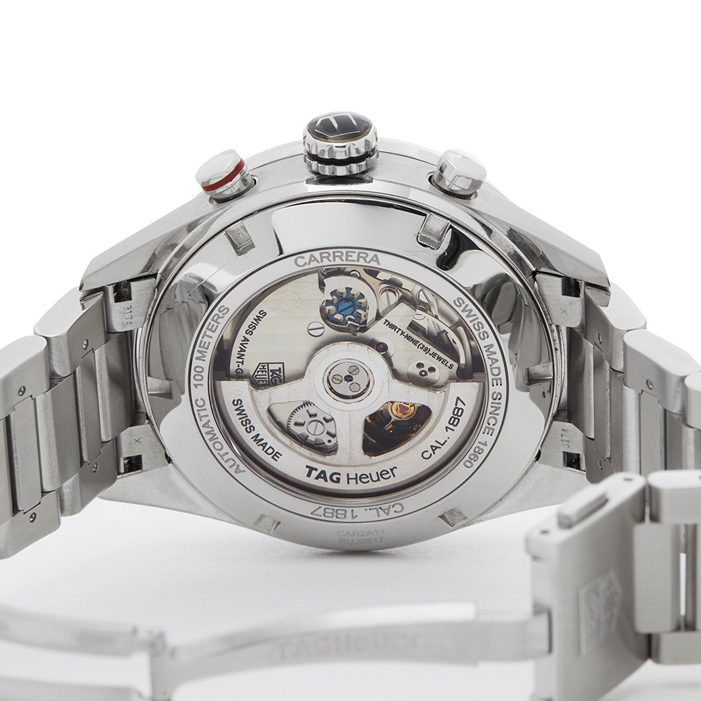 Tag Heuer Carrera Stainless Steel CAR2A11