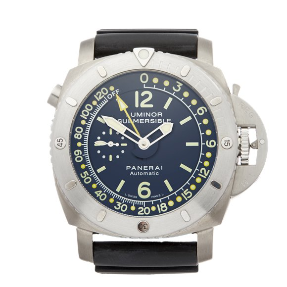Panerai Luminor Submersible Depth Gauge Titanium - PAM00307