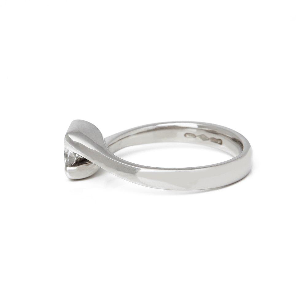 Diamond Platinum Princess Cut Diamond Engagement Ring