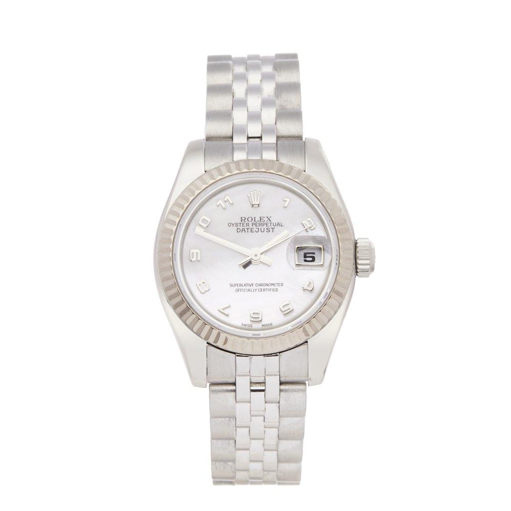 Rolex Datejust 26 Stainless steel & 18k White gold 179174