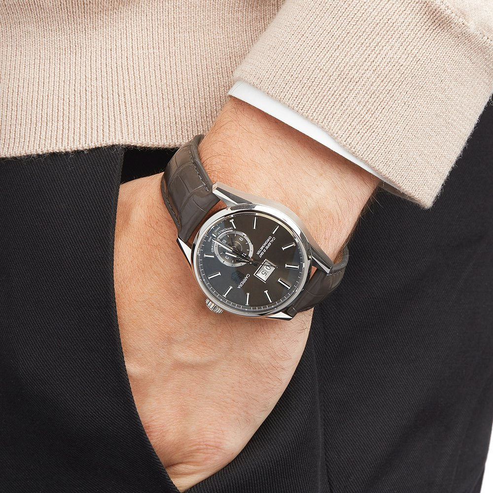 Tag Heuer Carrera Calibre 8 Gmt Stainless Steel WAR5012