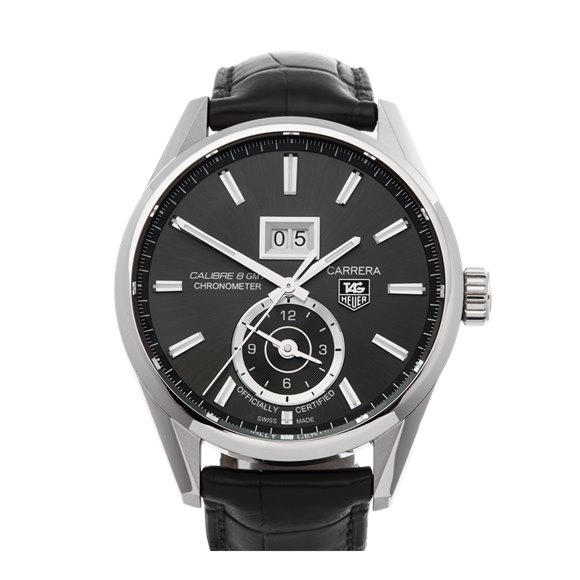 Tag Heuer Carrera Calibre 8 Gmt Stainless Steel - WAR5012