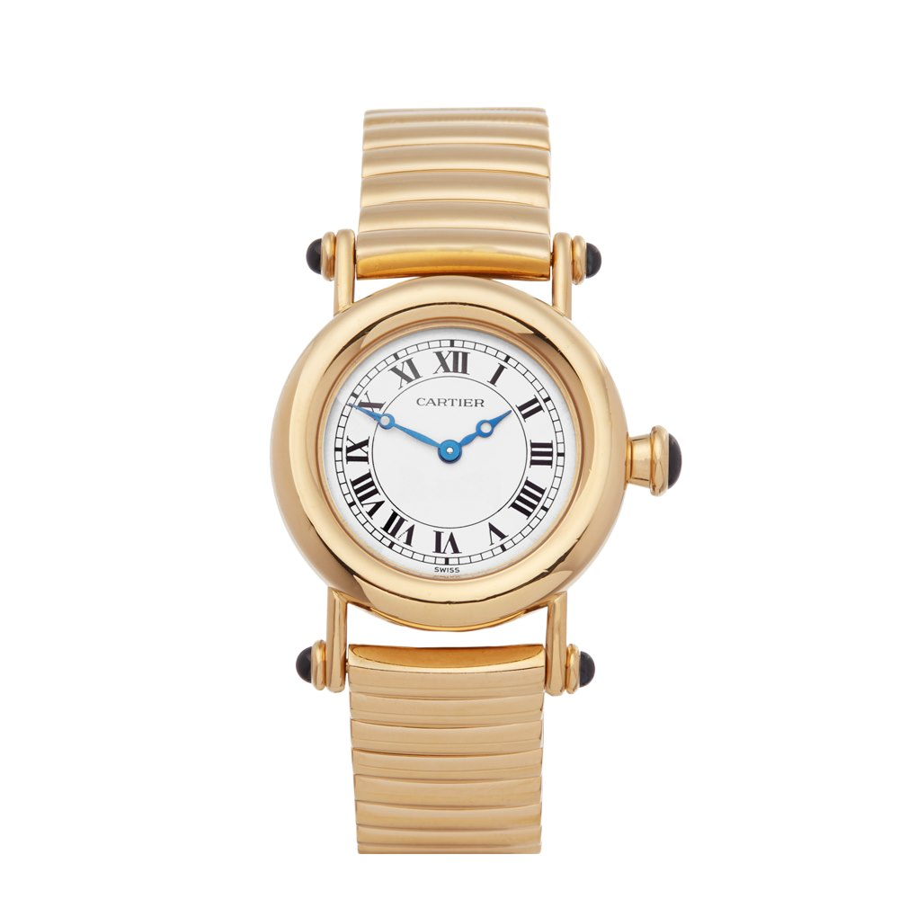 Cartier Diabolo 18k Yellow Gold W15158M1