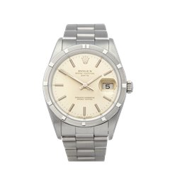 Rolex Oyster Perpetual Date Stainless Steel - 15210