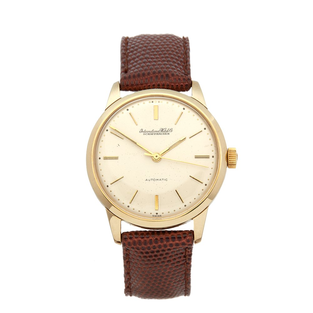 IWC Vintage Yellow Gold 1263131