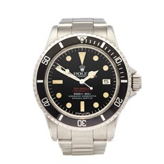 Rolex Double Red Sea Dweller Stainless Steel - 1665