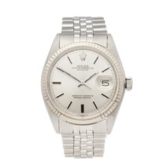 Rolex Datejust 36 Stainless Steel & 18K White Gold - 1601