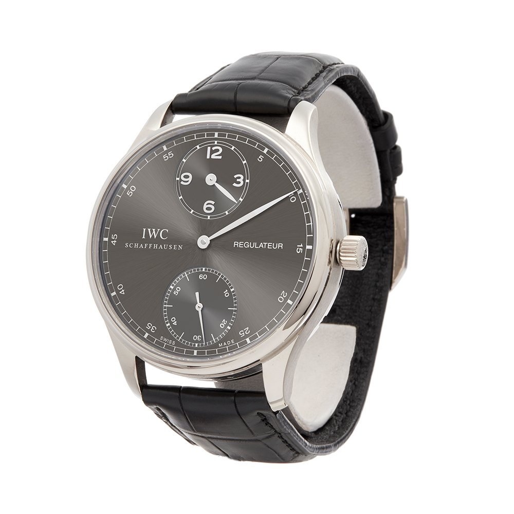 IWC Regulateur White Gold IW544404