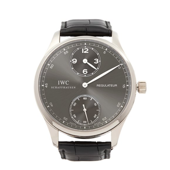 IWC Regulateur 18k White Gold - IW544404