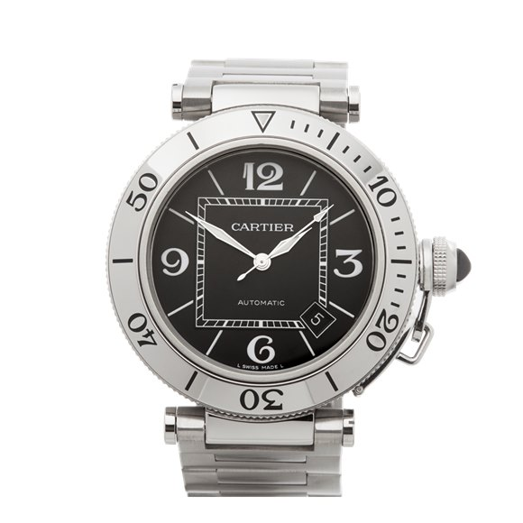 Cartier Pasha de Cartier Seatimer Stainless Steel - W31077M7 or 2790