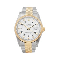 Rolex Datejust 36 Stainless Steel & 18K Yellow Gold - 16233