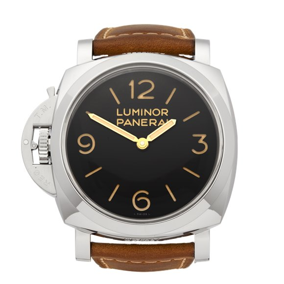 Panerai Luminor Left Handed Stainless Steel - PAM00557