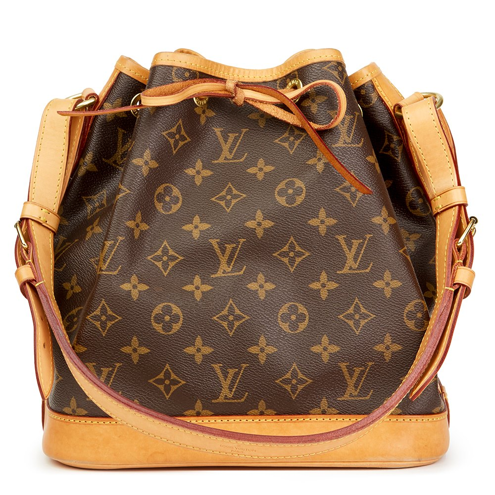 3200f0f5c588 Louis Vuitton Brown Classic Monogram Canvas Petit Noé