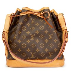 Louis Vuitton Brown Classic Monogram Canvas Petit Noé