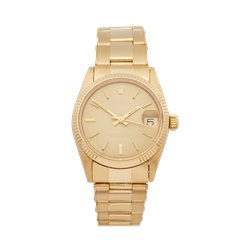 Rolex Oyster Perpetual Date 31 18K Yellow Gold - 6824