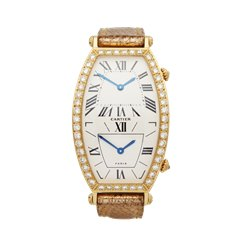 Cartier Tonneau 18K Yellow Gold - W1502853