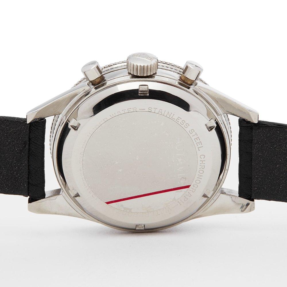 Heuer Autavia Chronograph Stainless Steel 3646