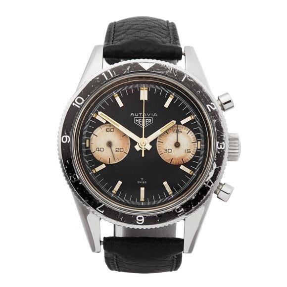 Heuer Autavia Chronograph Stainless Steel - 3646