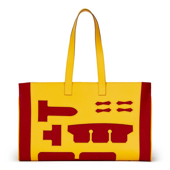 Petit H GM Skeleton Tote