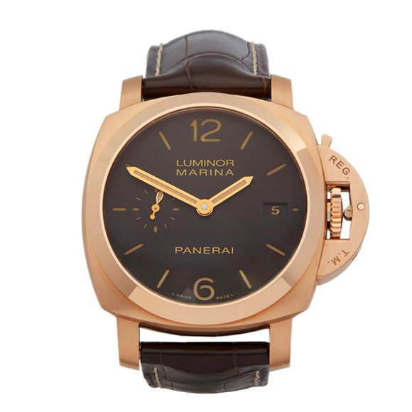 Panerai Luminor 18k Rose Gold - PAM00393