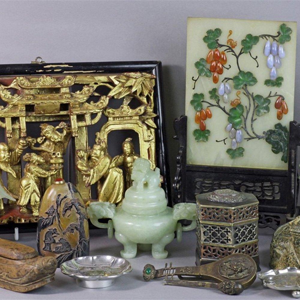 CHINESE/TIBETAN CRICKET BOX 19th Century