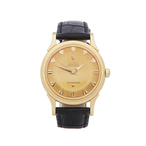 Omega Vintage Yellow Gold - 2853