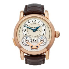 Montblanc Nicolas Rieussec Chronograph 18K Rose Gold - 102334