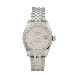 Rolex Datejust 26 Stainless Steel & 18K White Gold - 179174