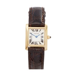 Cartier Tank Francaise 18K Yellow Gold - W5000256