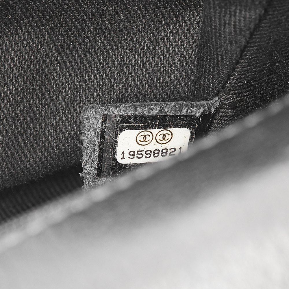 f5a9a60bd628 Chanel Black Studded Calfskin Leather Paris-Dallas Studded Buckle Flap Bag