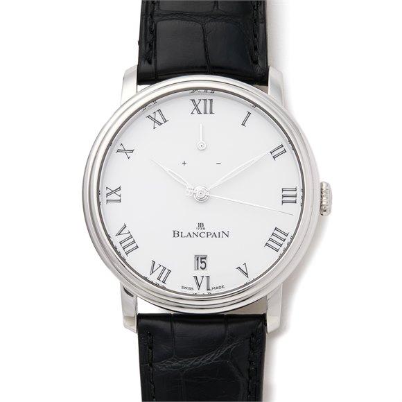 Blancpain Villeret 5 Jours Platinum - 6613-3403-55B