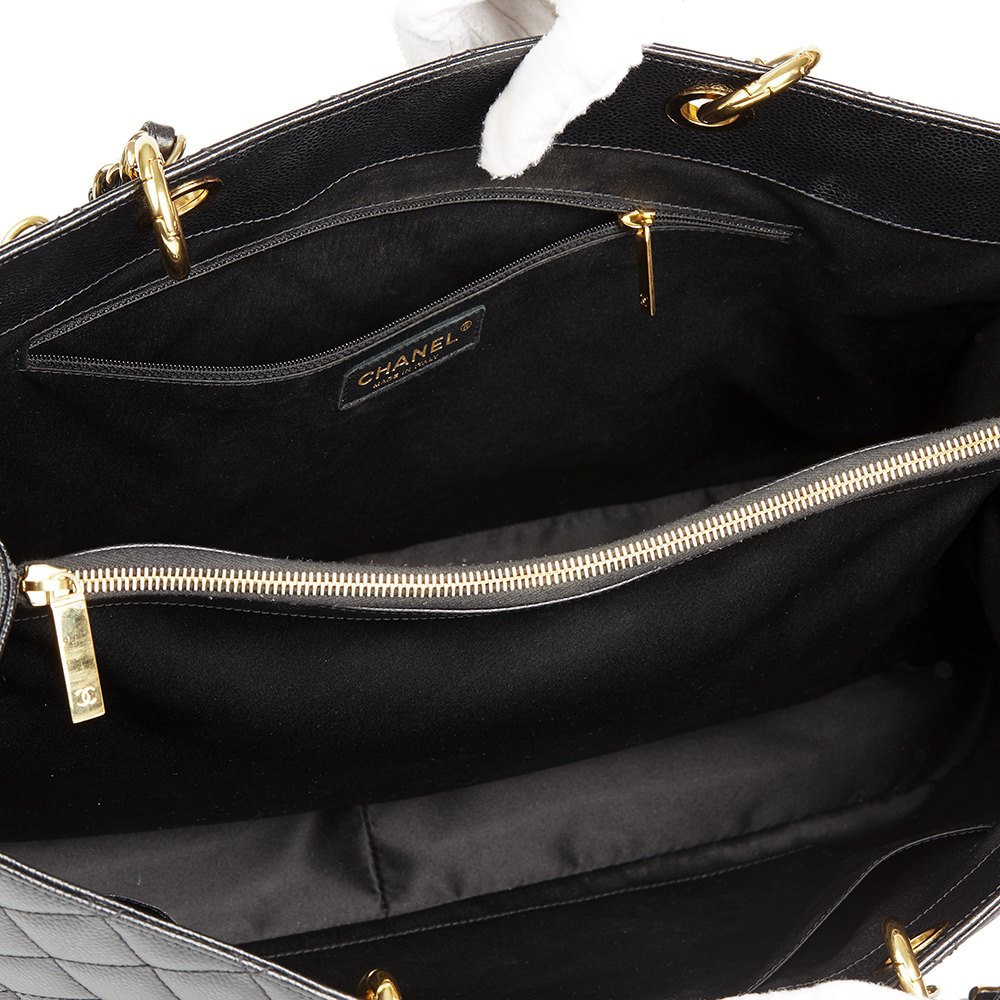 218602aa872f11 Chanel Grand Shopping Tote XL 2012 HB1942   Second Hand Handbags