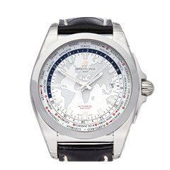 Breitling Galactic Unitime Stainless Steel - WB3510U0/A7