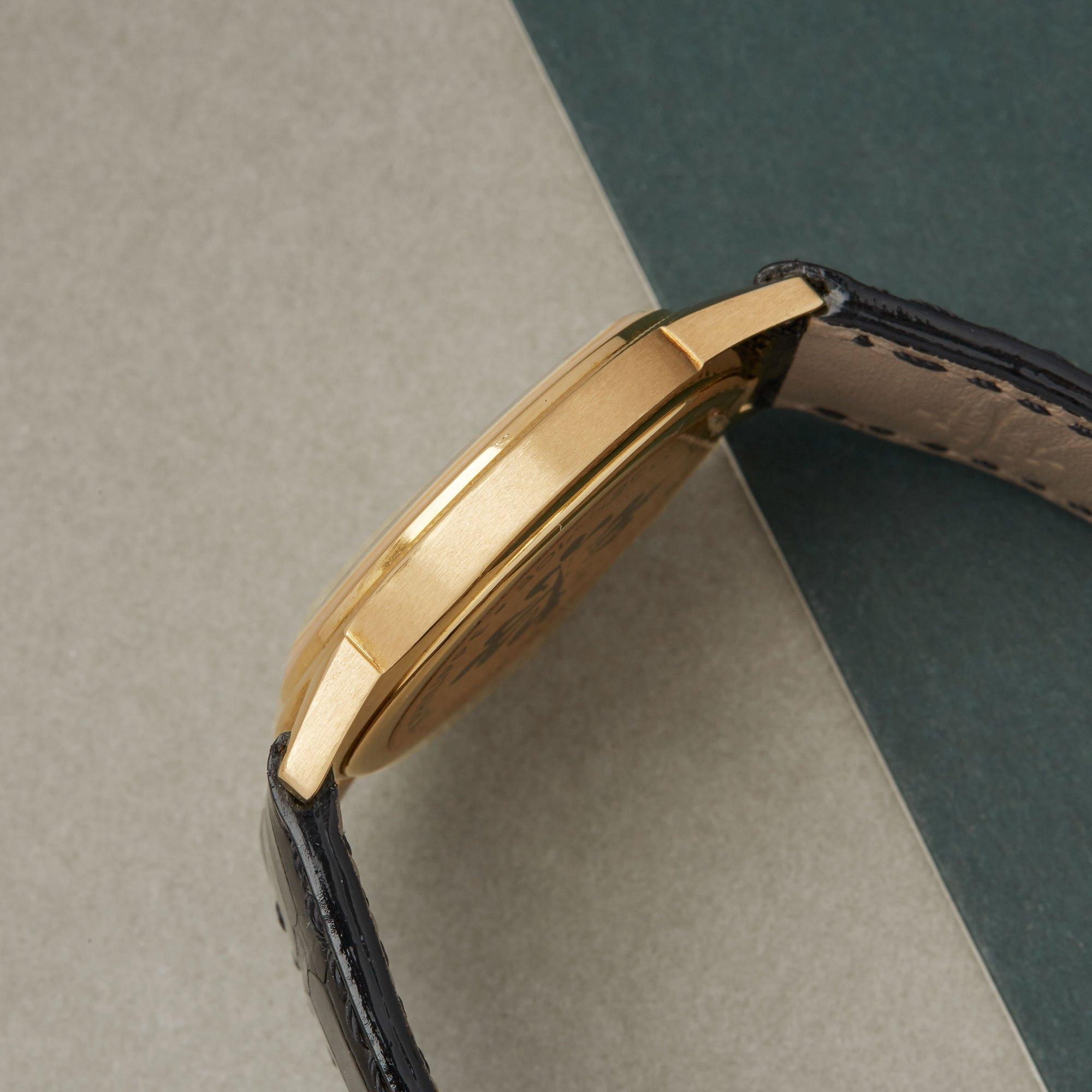 Patek Philippe Calatrava 18K Yellow Gold 3602