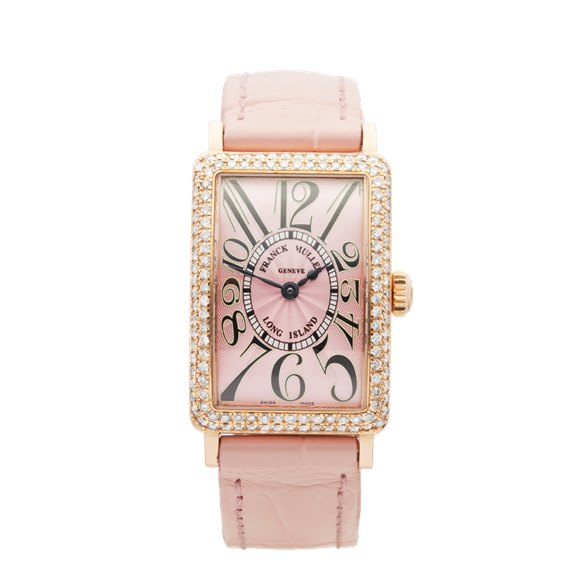 Franck Muller Long Island Lady 18K Rose Gold - 900.QZ.D
