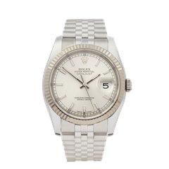Rolex Datejust 36 Stainless Steel & 18K White Gold - 116234
