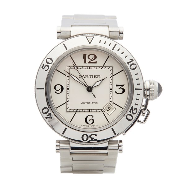 Cartier Pasha de Cartier Seatimer Stainless Steel - W31080M7