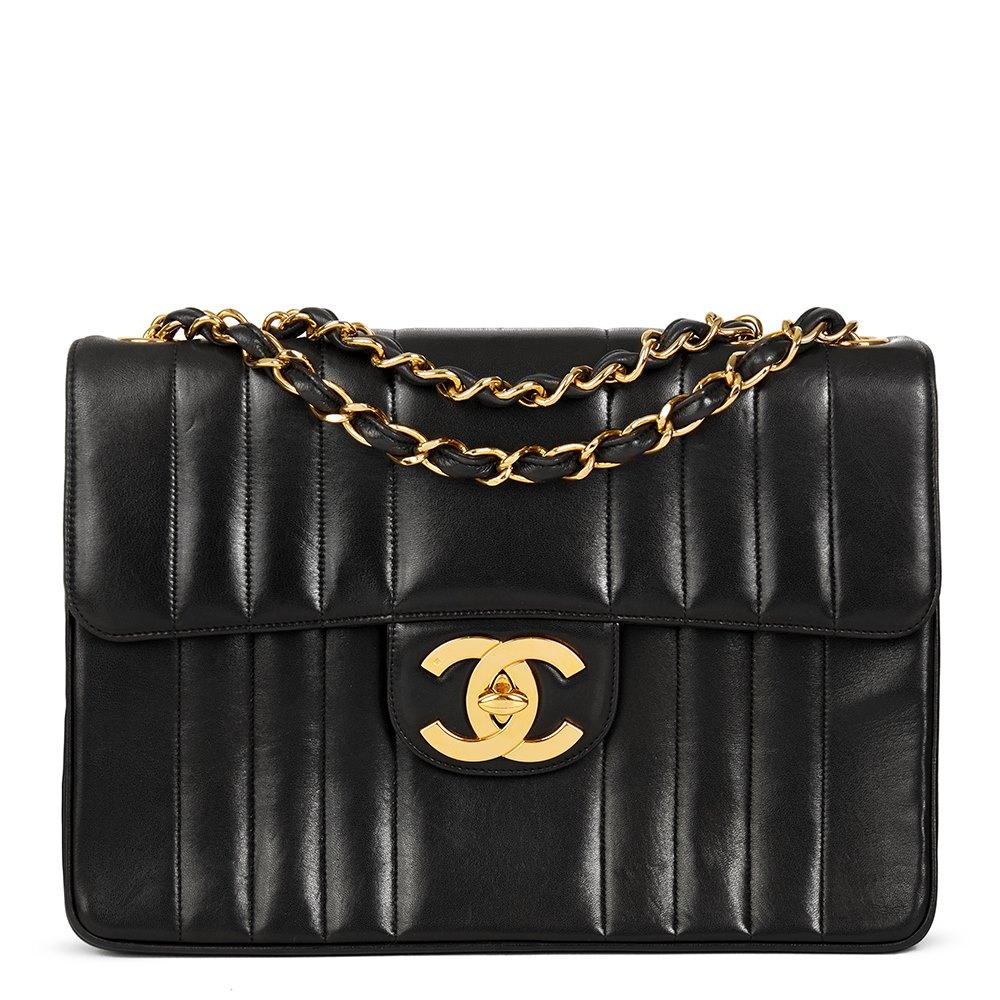 220a76384d9560 Chanel Jumbo XL Flap Bag 1994 HB1952 | Second Hand Handbags | Xupes