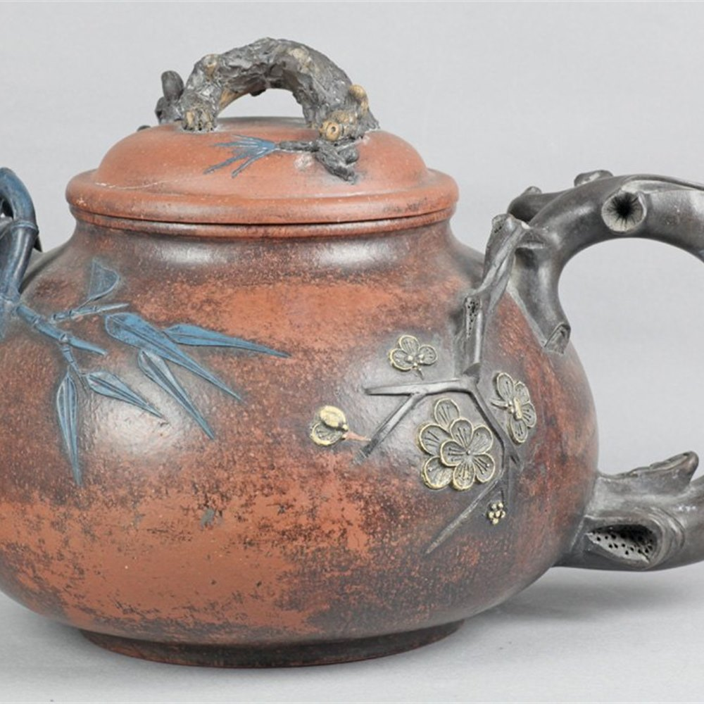 CHINESE YIXING PUNCH POT Believed 18th / 19th Century