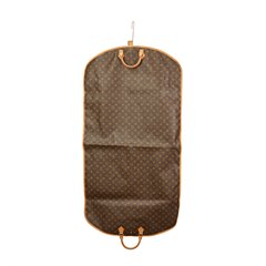 Louis Vuitton Brown Coated Monogram Canvas Vintage Garment Cover