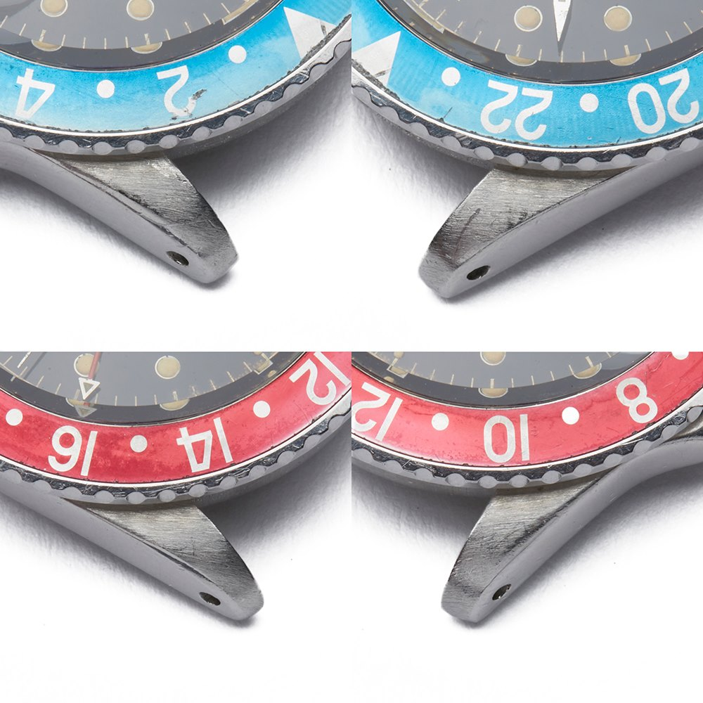 "Rolex GMT-Master ""Pepsi"" Small GMT Hand Stainless Steel 1675"