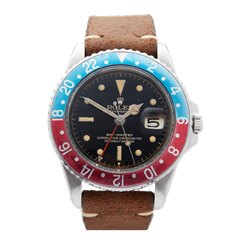"Rolex GMT-Master ""Pepsi"" Small GMT Hand"