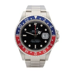 Rolex GMT-Master II Pepsi Stick Dial Stainless Steel - 16710